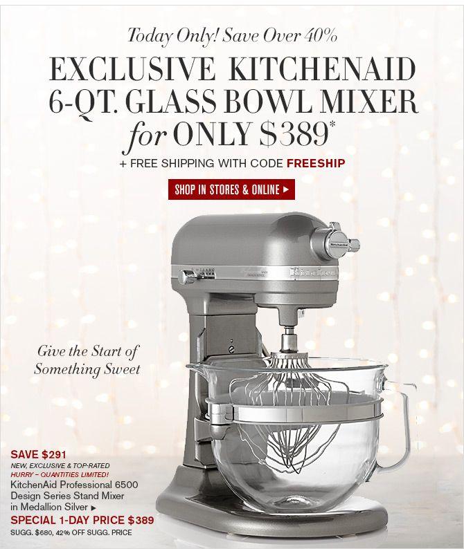 Kitchenaid Glass Bowl 6 Quart 25+ best ideas about kitchenaid mixers on sale on pinterest