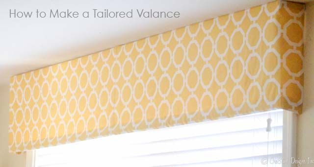 9 Best Soft Tailored Window Valances Images On Pinterest