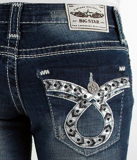 Big Star Vintage Sweet Boot Stretch Jean #buckle #fashion www.buckle.com
