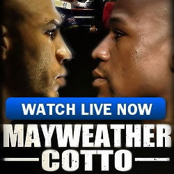Watch Mayweather vs Cotto Live Streaming