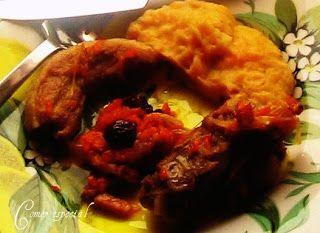 Costillas estofadas con verduras y puré de papas ~ Comer especial