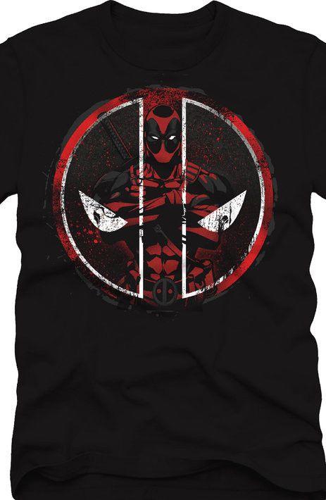 Deadpool Merc with an Emblem T-Shirt