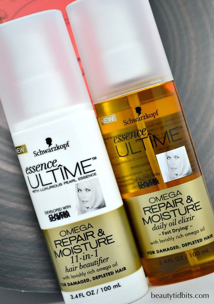 Treat your Tresses with the new luxurious Schwarzkopf essence ULTÎME Omega Repair & Moisture haircare - now available at Walmart for $6.97 each!