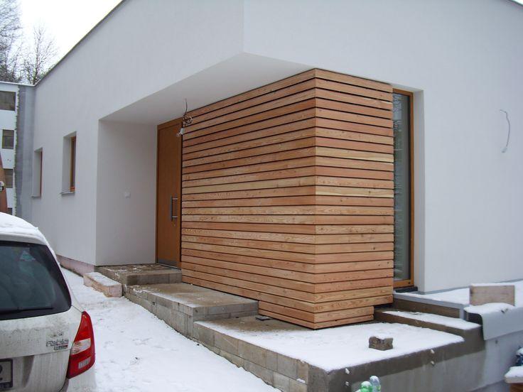 Dřevěná fasáda sibiřský modřín, Ústí nad Labem