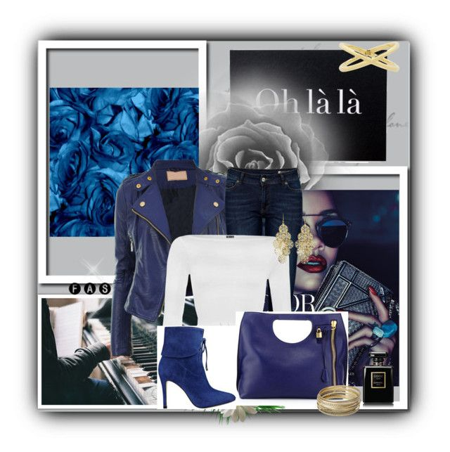 """""""fall in royal blue"""" by siempreguapaconnormacano on Polyvore"""