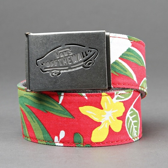 VANS Reversed Web Belt - Red Hawaiian