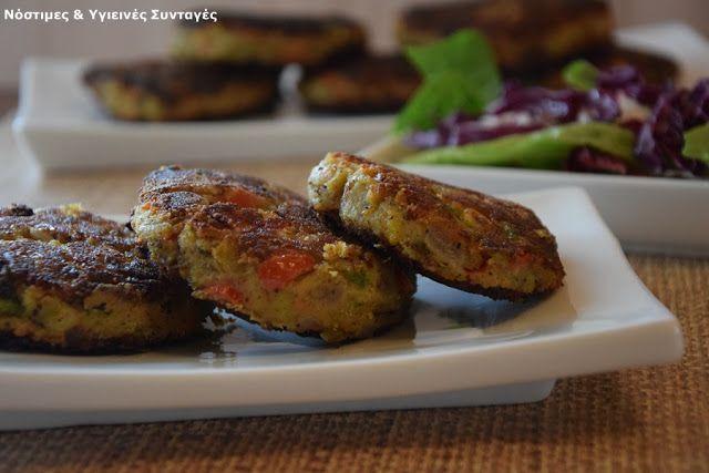 Νόστιμες κ Υγιεινές Συνταγές: Μπιφτέκια Λαχανικών με αλεύρι από φακές