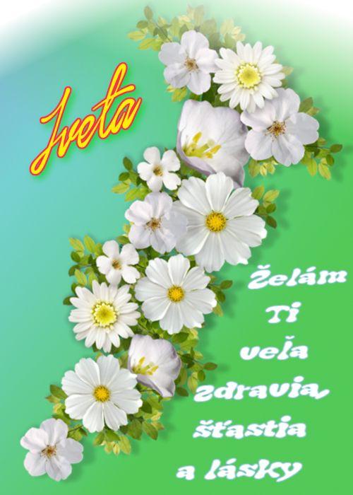 Iveta Želám Ti veľa zdravia, šťastia a lásky