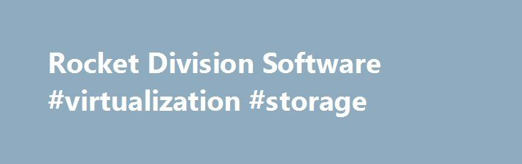 Rocket Division Software #virtualization #storage http://virginia.remmont.com/rocket-division-software-virtualization-storage/  # On 3rd of February, 2009, Rocket Division Software announced their spin-off of its StarWind iSCSI Target solution into a new company, StarWind Software Inc. On 17th of February, 2010, StarBurn Software Ltd. a provider of CD, DVD and Blu-Ray optical media solutions and technology, announced their spin-off from Rocket Division Ltd. StarBurn a tool for grabbing…