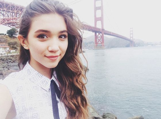 """You may know her from the Disney series """"Girl Meets World,"""" but Rowan Blanchard is also an activist for feminism at the age of only 14. Description from fora.mtv.ca. I searched for this on bing.com/images"""
