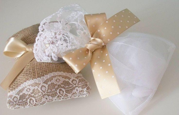 Μπομπονιέρες γάμου-πουγκιά
