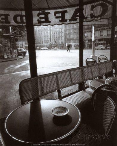 Café de Flore Posters par Jeanloup Sieff sur AllPosters.fr