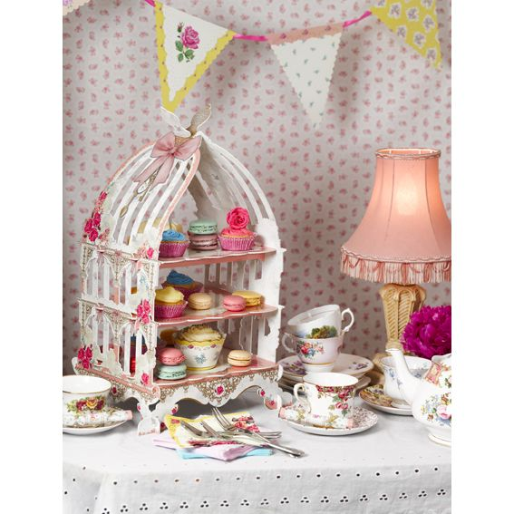 Talking Tables Birdcage Cake Stand