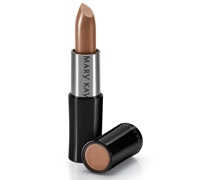 Mary Kay® Creme Lipstick,  Amber Glow  Warm tones blended with the beauty of a fireside glow – just one of the many glamorous shades from the Mary Kay® Creme Lipstick collection. The long-wearing, stay-true color glides on with a lightweight, creamy texture for maximum color impact that lasts. Plus, it won't feather or bleed. It's even enhanced with vitamin E and a vitamin C $13