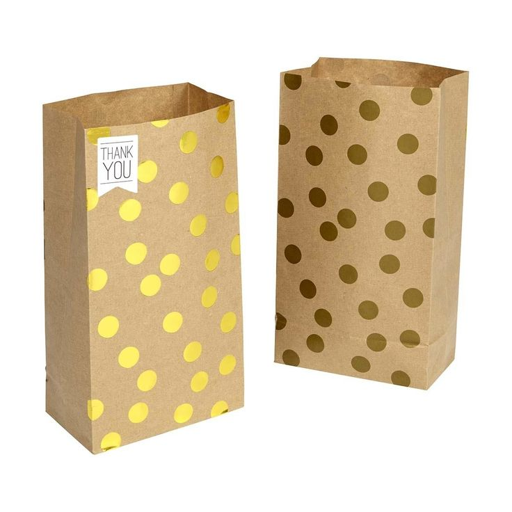 Loot Bags with Stickers - Polka Dots, Pack of 8 | Kmart