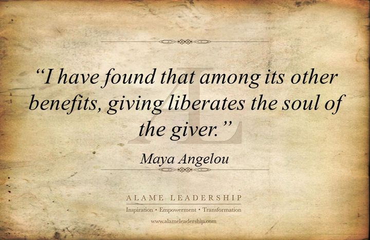 christmas quotes about giving and sharing | AL Inspiring Quote on Giving | Alame Leadership | Inspiration ...