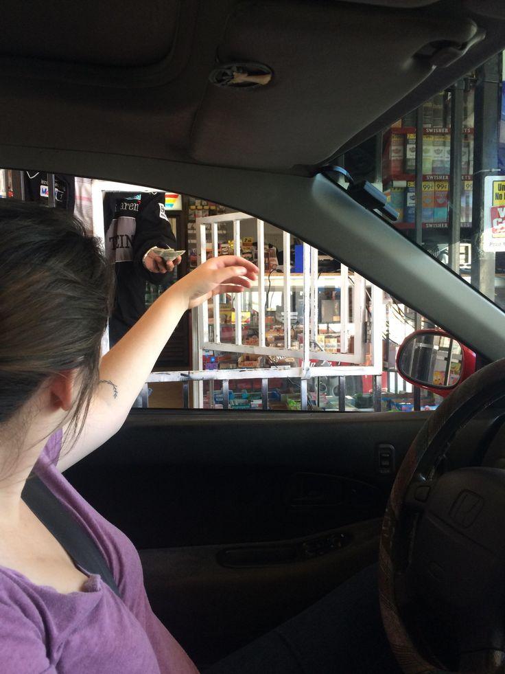 Drive through convince store in Vallejo California.