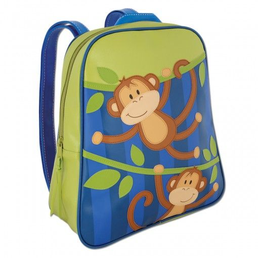 Monkey Go Go Backpack Possum Pie Stephen Joseph Arts and Crafts, Gifts and Toys, Bags and Backpacks