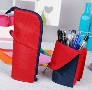 Cute Pencil Case. No instructions (it seems to be sold somewhere) but I don't think I need any, either.