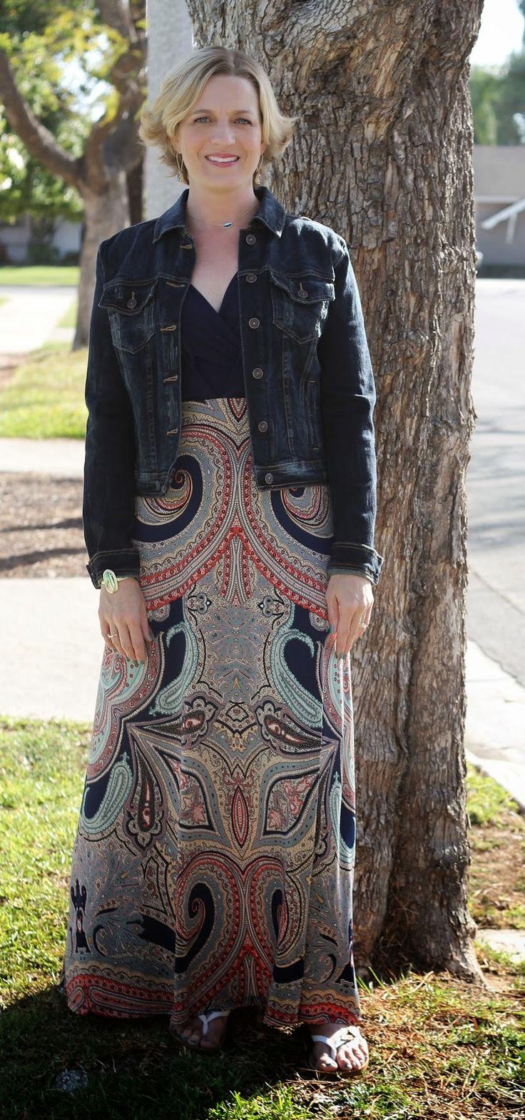 Gili maxi dress