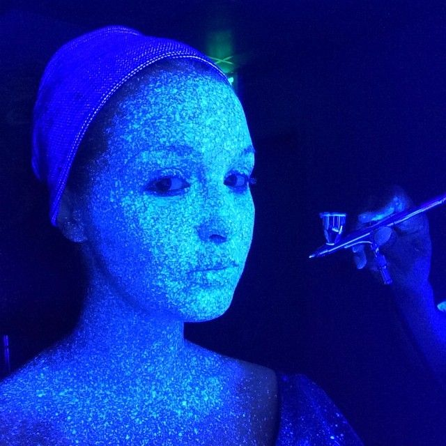TIL when doing the motion capture for Rise of the Tomb Raider Camilla Luddington's face was applied with Mova florescent paint to give game designers 7000 points of reference [xpost /r/geekboners]