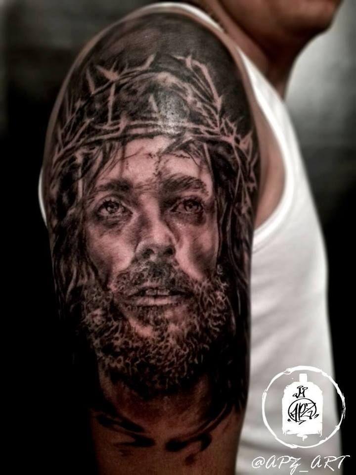 Jesus  Tatuaje  Jesus Tattoo Realistic