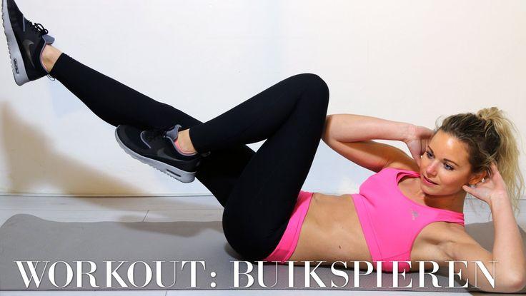 Buikspieren workout met Marlou