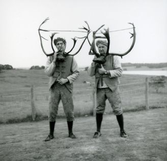The Horn Dancers of Abbots Bromley