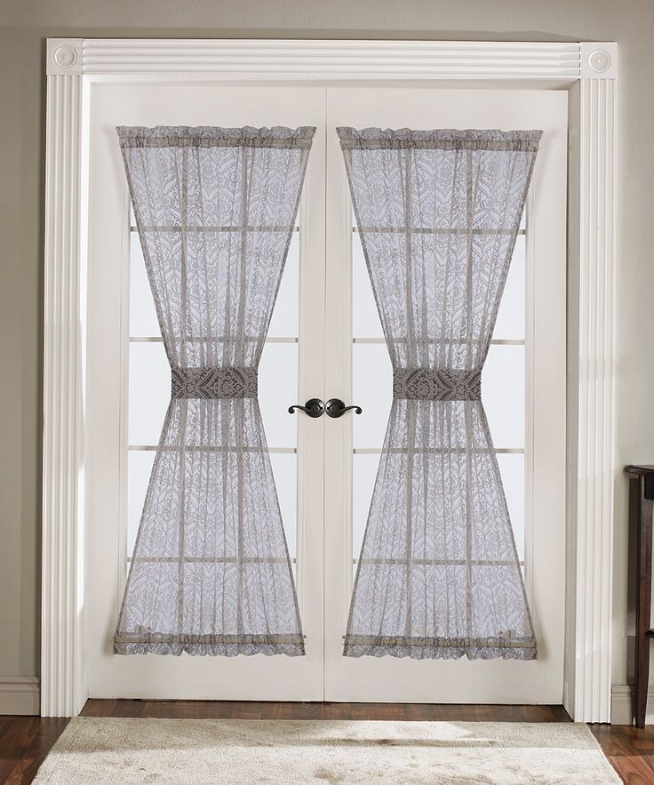For Our French Doors In The Dining Room