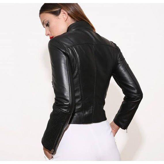 Italian brands Italian Leather jacket 100% Made in Italy