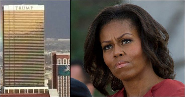 "On the same day Michelle Obama decided to call America ""hopeless,"" a photo was taken of Donald Trump's Hotel in Nevada that immediately went viral. As it turns out, there's something in the background that some just can't ignore – and it's left a great many people rather shocked."