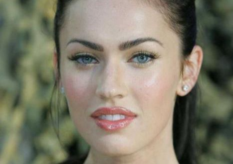 """Megan Foxs Eyelash Extensions  """"Ultra-black lashes and thick, tidy eyebrows. Megan Fox - whose perfect body and cat-like blue eyes make her a regular presence on lists of the world's sexiest women - focuses on her eyes."""" -Vouge"""