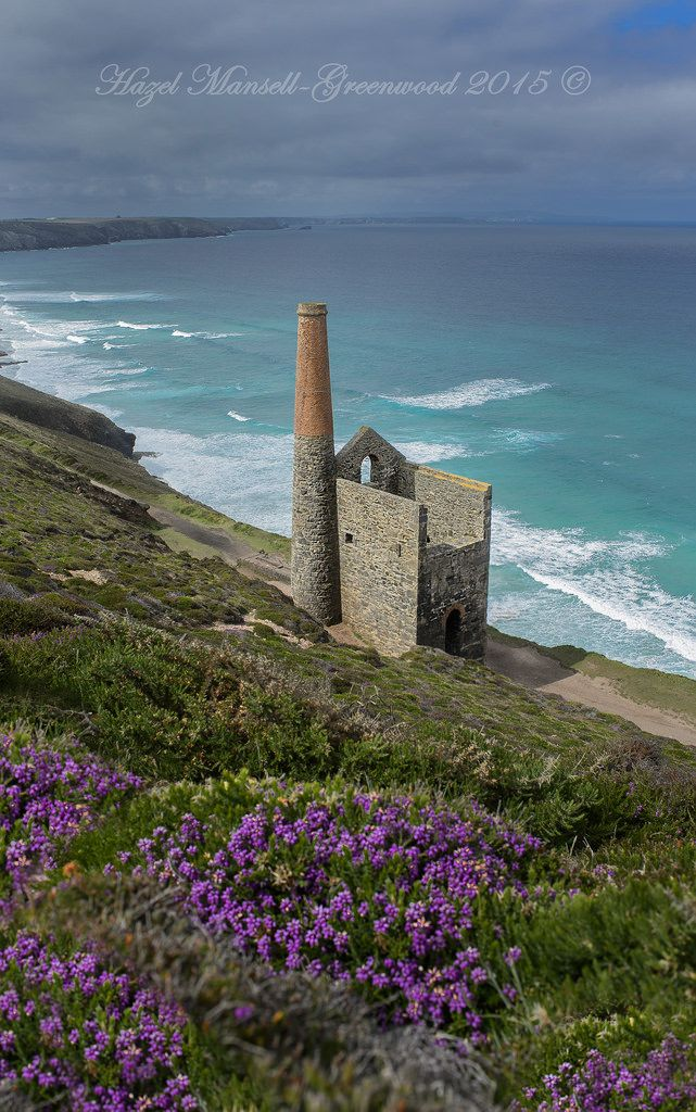 Wheal Coates mine, Cornwall, England by hazel mansell-greenwood