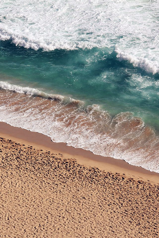 ↑↑TAP AND GET THE FREE APP! Art Creative Sea Beach Hot Summer Water Sand Wave Coast HD iPhone 4 Wallpaper