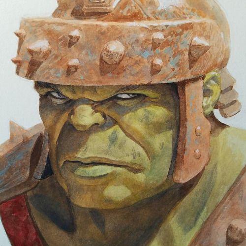 Planet Hulk - Paolo Rivera