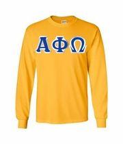 $20 Alpha Phi Omega Custom Twill Long Sleeve T-Shirt