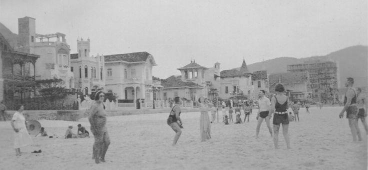 Praia de Copacabana em 1931.