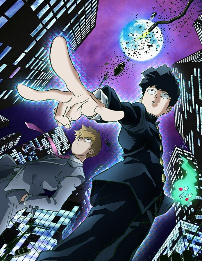 One-Punch Man Creator'S Mob Psycho 100 TV Anime Release date for July | Anime Lap