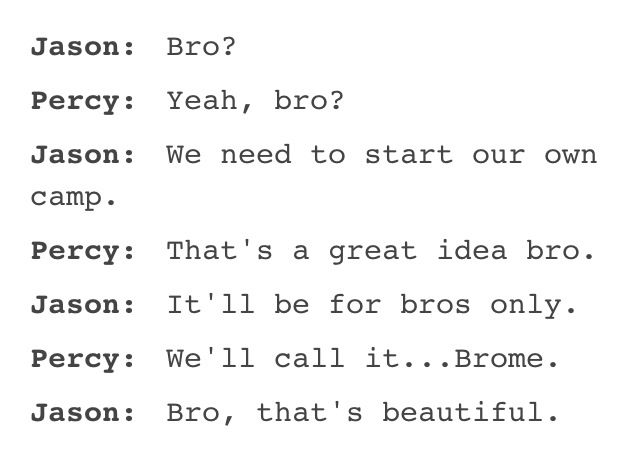 JERCY BROMANCE IS THE GREATEST THING TO HAPPEN