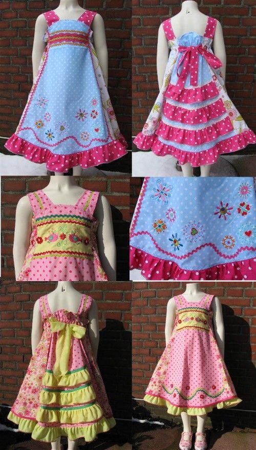 Feliz Kleider from Sewing Clothes Kids Love