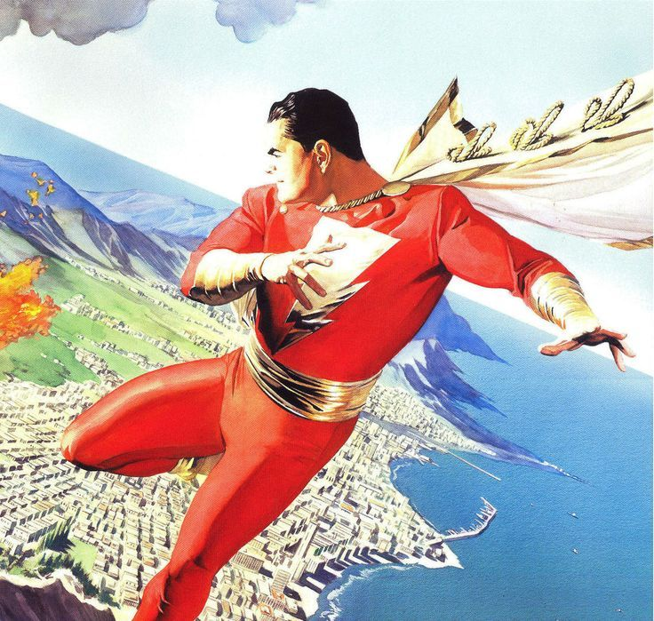 Image Result For Alex Ross Shazam