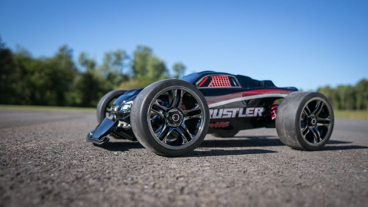 Traxxas Rustler XL-5 - On-Road Runs with Castle Sidewinder 8th ...