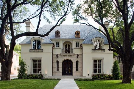 15 best french provincial facades images on pinterest for Classic house french kiss