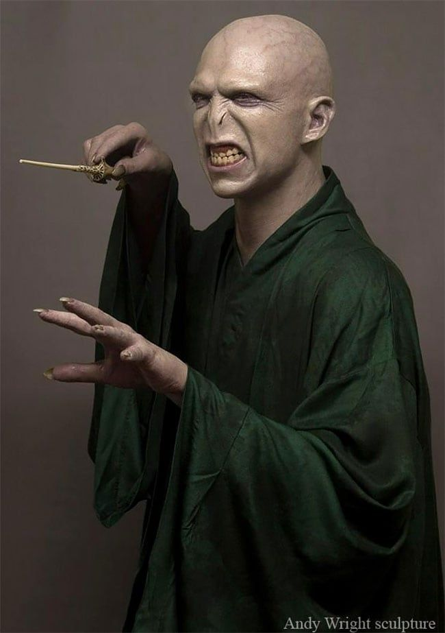 Incredible Surreal And Hyper Realistic Sculptures By Andy Wright Voldemort Harry Potter Drawings Sculptures