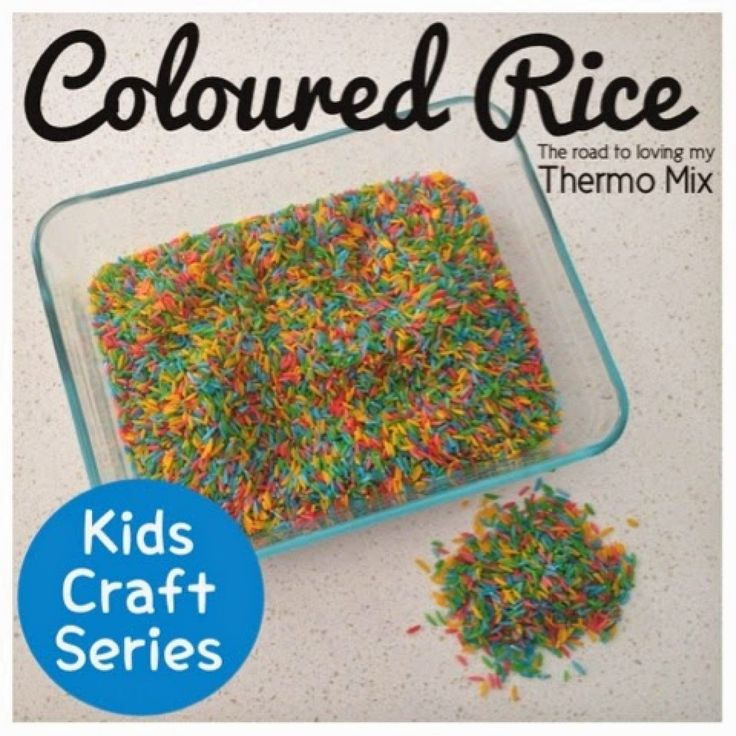 This was my 5 year olds favorite thing as a toddler. I would make kilos of the stuff at a time because he went through it so quickly. He would play with it mostly outdoors and my backyard often looked like it had been raining hundreds and thousands! This is a great sensory activity