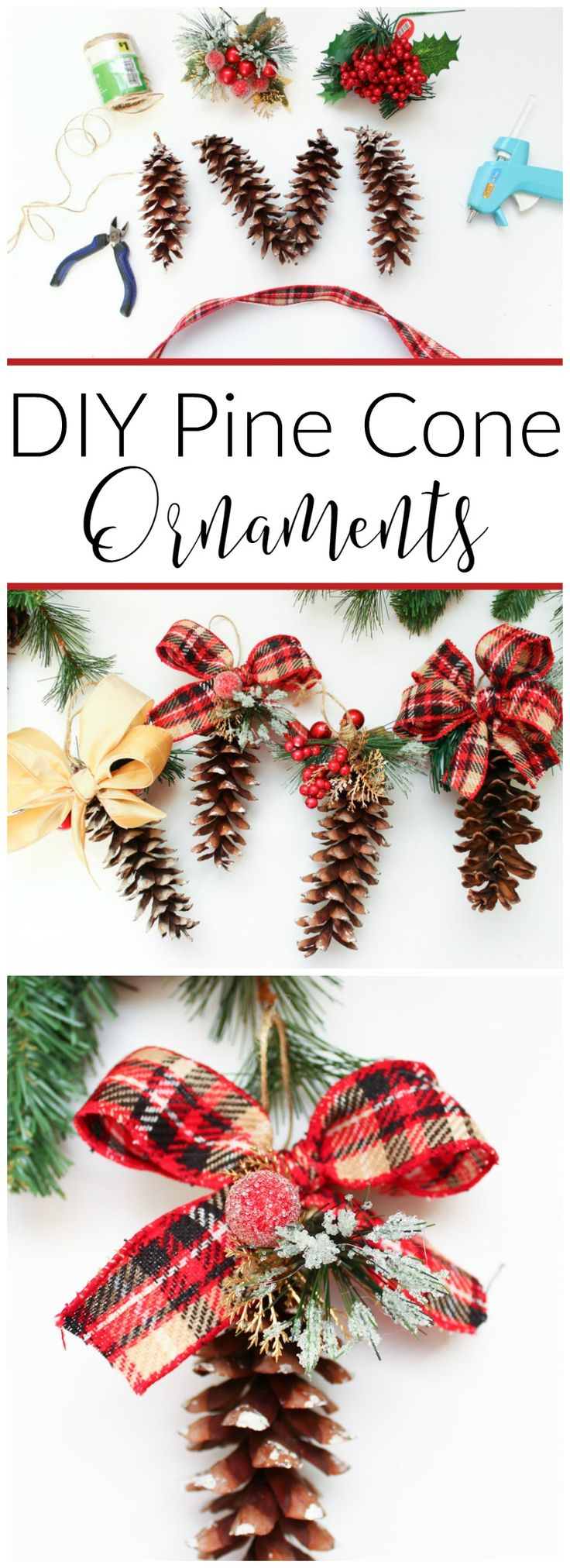 Best 25+ Christmas ribbon crafts ideas on Pinterest | Christmas ribbon,  Ribbon bows and Santa claus christmas tree