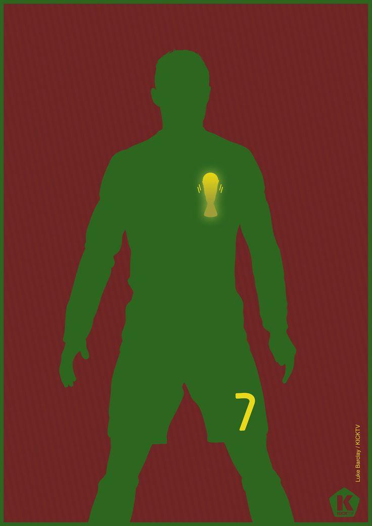 El que los tiene a 90 minutos del Mundial Brasil 2014. | Tres golazos hoy [19Nov13] en el partido de repechaje ante Suecia y clasificando a Portugal. Ha de ser el Botín de Oro 2013 y por lo pronto, el mejor jugador del mundo.
