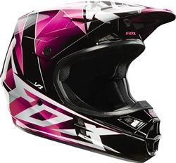 2014 Fox V1 Radeon Girl's Motocross Helmet