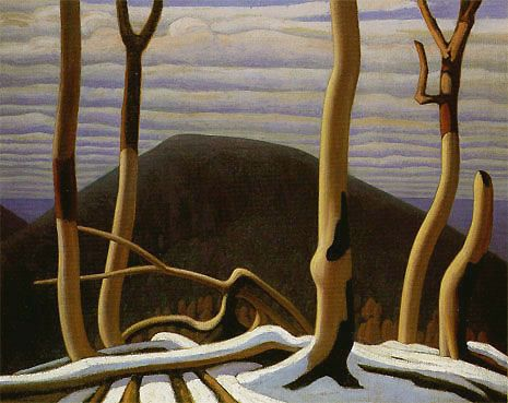 Above Lake Superior, Lawren Harris, 1922