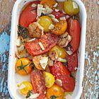 Geroosterde tomaten uit de oven van Annabel Langbein - recept - okoko recepten